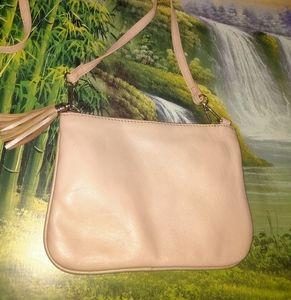 Promod leather sling bag